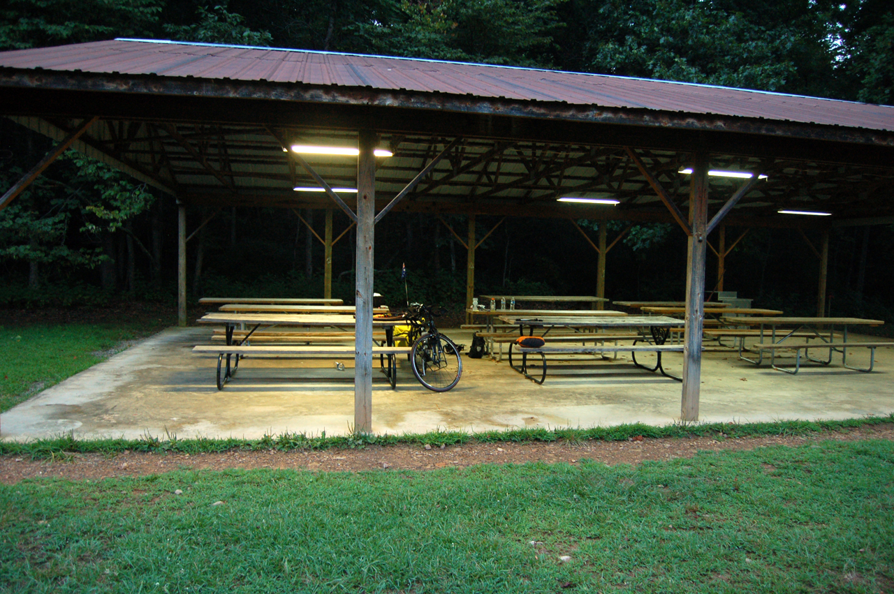 Day 8: Camp Bethel to Christiansburg, VA