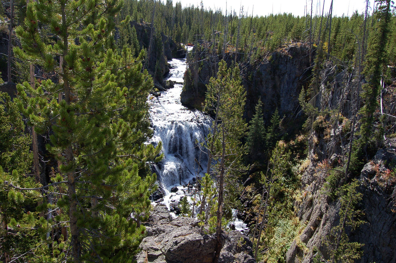 Yellowstone is full of waterfalls