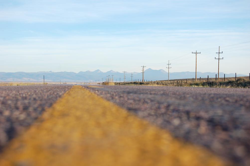 Endless road.
