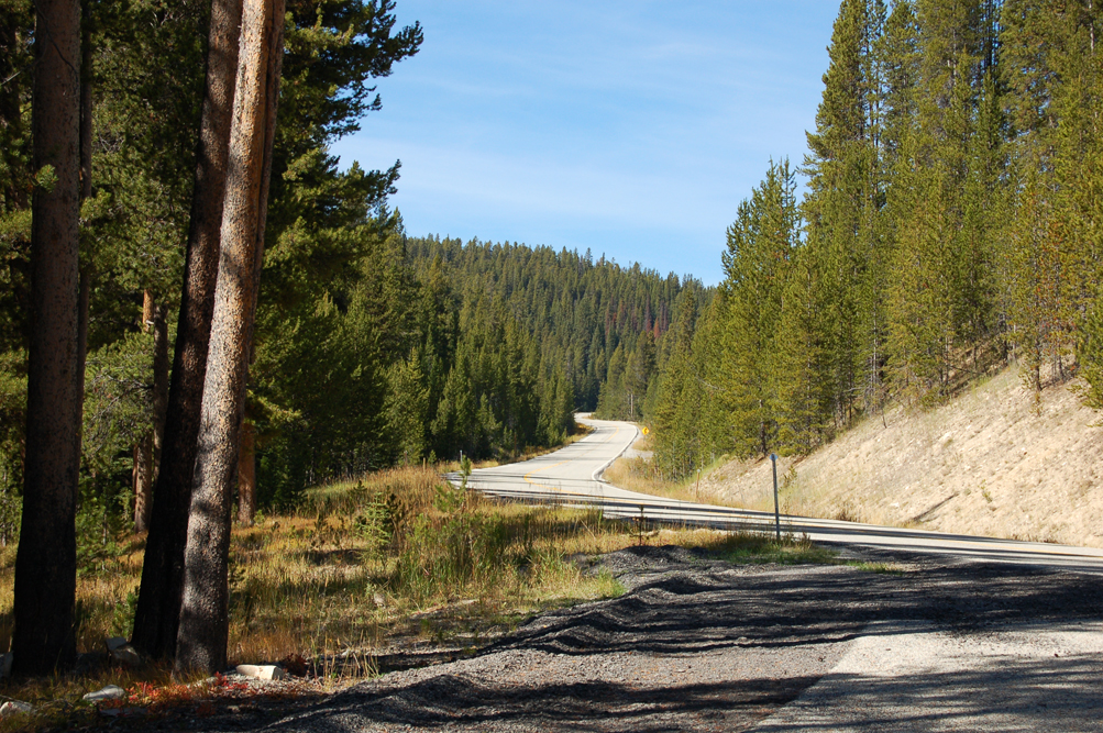 The Chief Joseph Pass climb proper begins