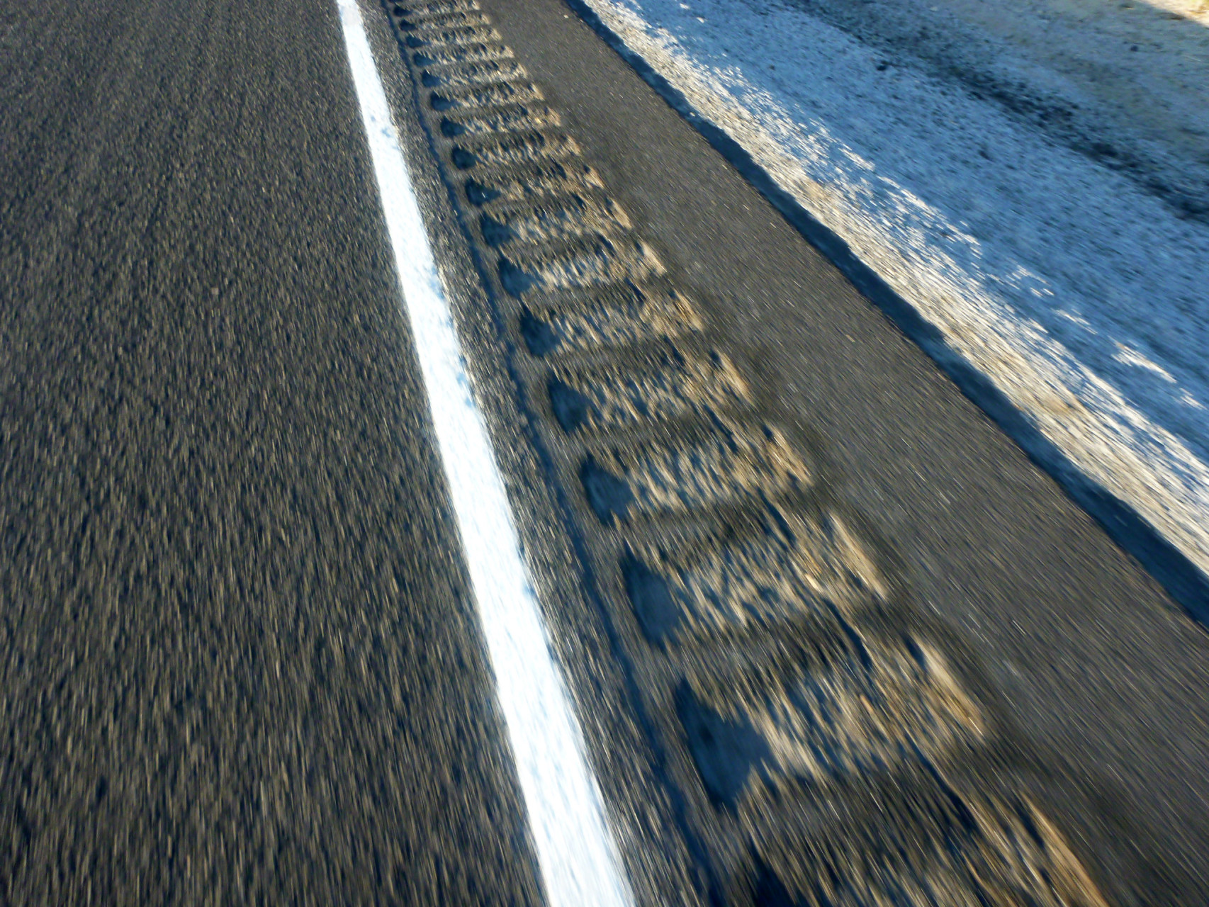 Rumble strips all day