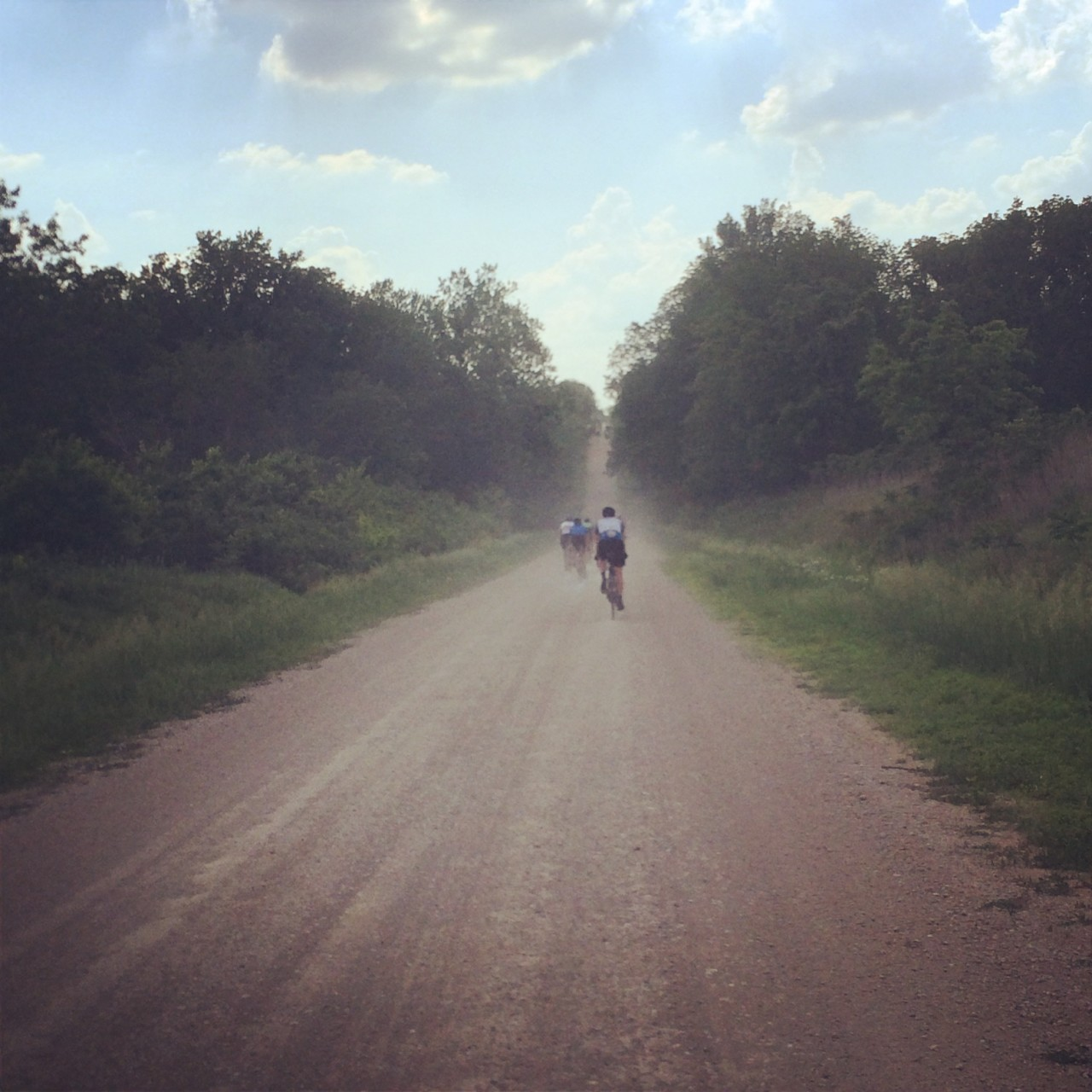 Shakedown ride number 2 in Lawrence, Kansas. Shop ride with Sunflower Outdoor & Bike