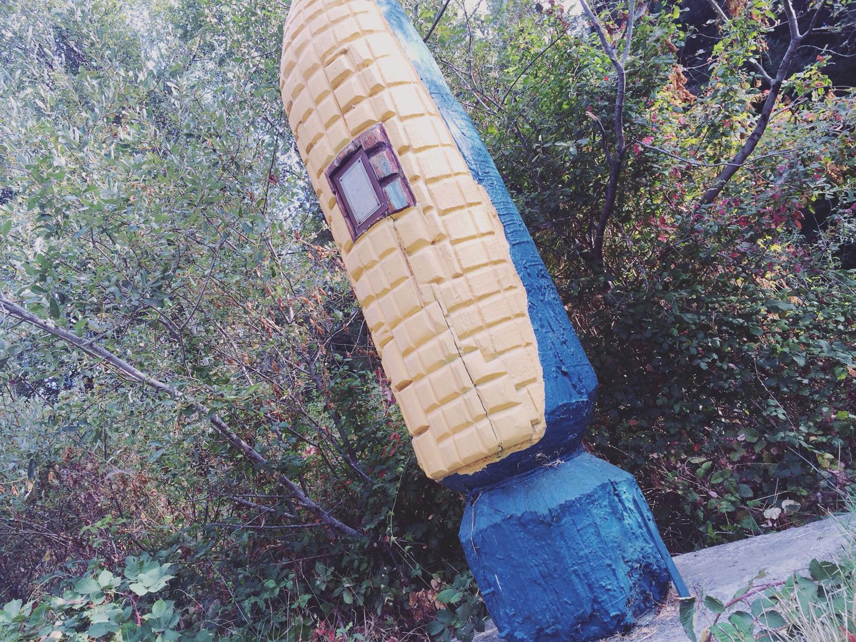 Corn memorial.