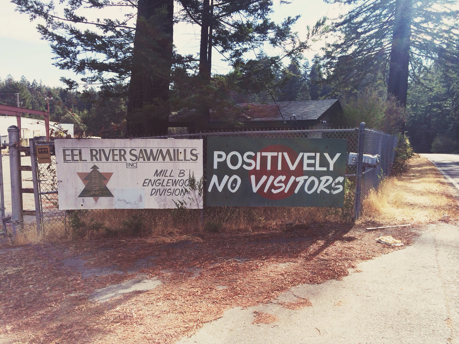 So, what you're saying is that I am absolutely not welcome in your sawmill?
