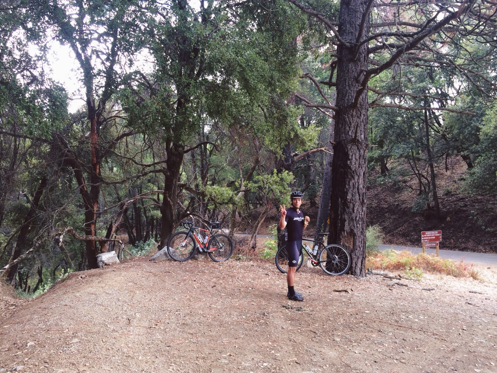 With Nacimiento done, we find ourselves at a crossroads. We eat before continuing up North Ridge Trail