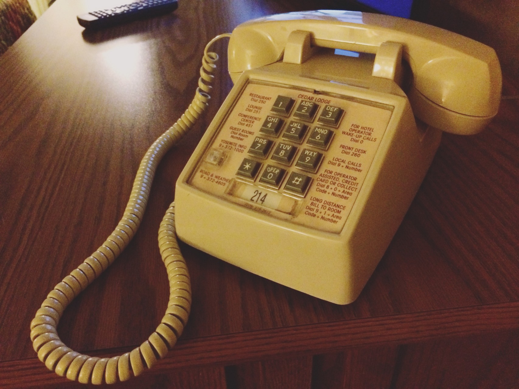 The secret to a successful #ridewriteretreat is no services. Kickin' it old school. 50c a call.