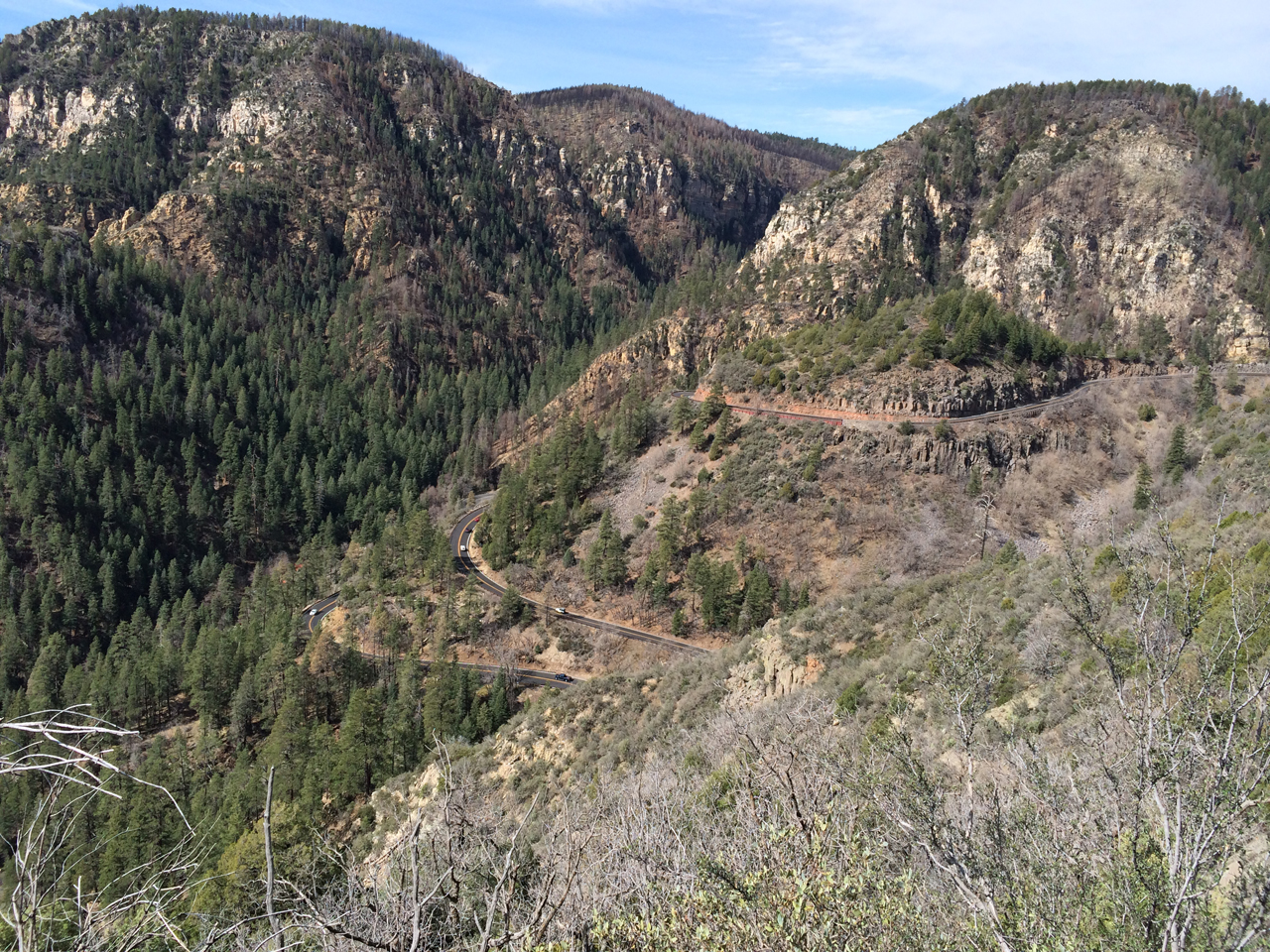 Great climb. But crap to get to. The road between Flagstaff and Sedona (89A) is poop.