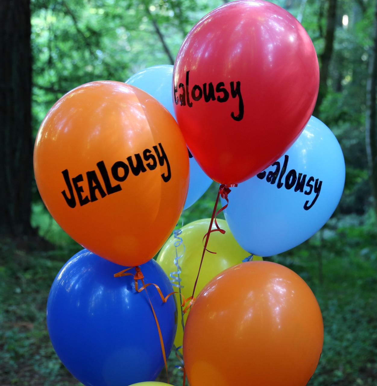 Jealous balloons.