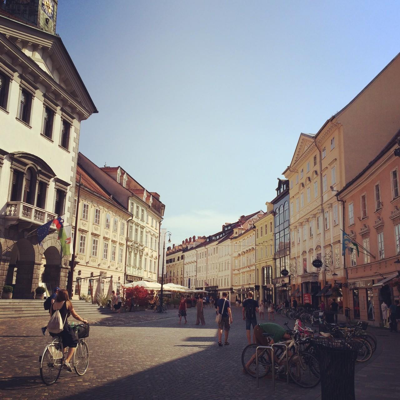 Ljubjana street