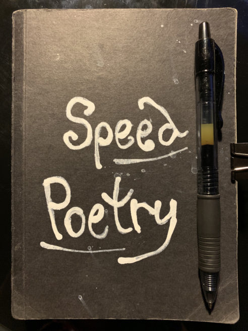 Speed Poetry: 2019